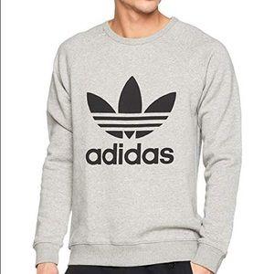 Brand new unisex adidas grey sweatshirt